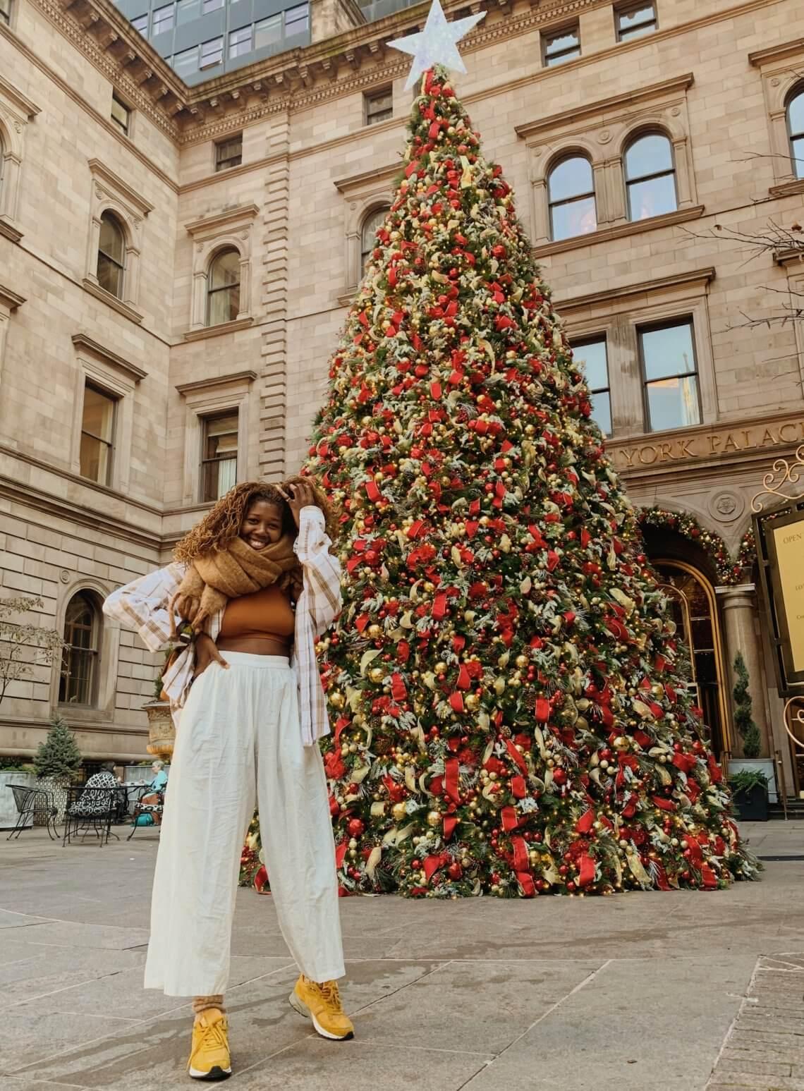 CHRISTMAS TREE LIGHTING IN NYC